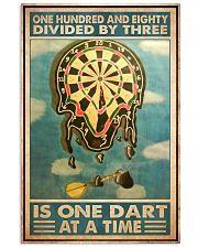 Dart at a time dvhd-cva 11x17 Poster front
