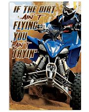 Dirt aint fly dvhd-cva 11x17 Poster front