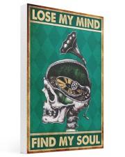 Vinyl lose mind dvhd-nna 16x24 Gallery Wrapped Canvas Prints thumbnail