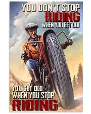 Get old riding dvhd-cva 11x17 Poster front