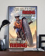Get old riding dvhd-cva 11x17 Poster lifestyle-poster-2