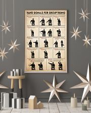 Motorcycle hand signal 11x17 Poster lifestyle-holiday-poster-1