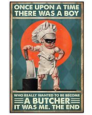 Butcher once upon 24x36 Poster front
