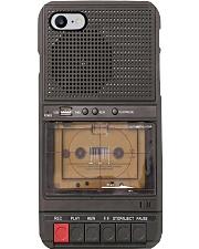 cassette tape record pc phq-pml Phone Case i-phone-8-case