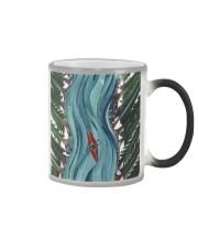 Kayak couple case dvhd-ntv Color Changing Mug tile