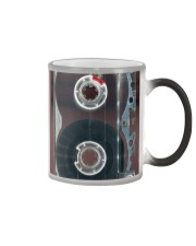 Catsette tape dvhd-pml Color Changing Mug tile