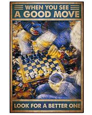 Chess good move dvhd -NTV 11x17 Poster front