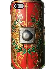 Roman legion shield pc dvhh ntv Phone Case i-phone-8-case