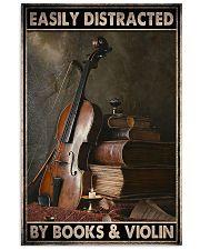 Violin book dvhd-ngt Vertical Poster tile