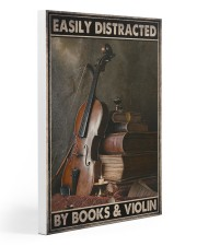 Violin book dvhd-ngt 20x30 Gallery Wrapped Canvas Prints thumbnail