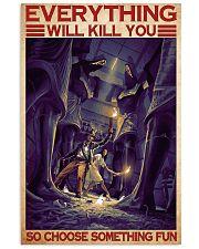 Choose fun archeology dvhd-ntv 11x17 Poster front