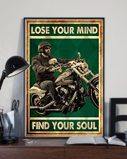 Lose you mind find your soul biker poster 11x17 Poster lifestyle-poster-2