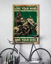Lose you mind find your soul biker poster 11x17 Poster lifestyle-poster-7