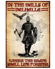 viking in the halls of valhalla pt nct nna 11x17 Poster front