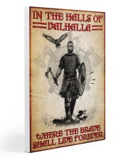 viking in the halls of valhalla pt nct nna Gallery Wrapped Canvas Prints tile