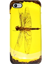 Dragonfly fossil amber pc dvhh-ngt Phone Case i-phone-8-case