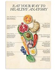 Healthy eat 11x17 Poster front