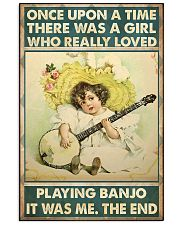 Once girl banjo 11x17 Poster front
