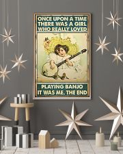 Once girl banjo 11x17 Poster lifestyle-holiday-poster-1