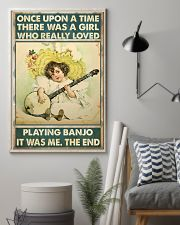 Once girl banjo 11x17 Poster lifestyle-poster-1