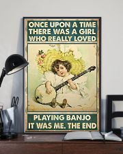 Once girl banjo 11x17 Poster lifestyle-poster-2