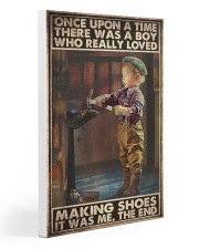 shoemaking once upon dvhd ngt Gallery Wrapped Canvas Prints tile