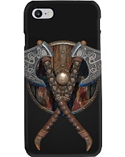 viking axe and shield pc mttn ngt Phone Case i-phone-8-case