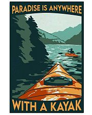 Kayak paradise dvhd-cva 11x17 Poster front