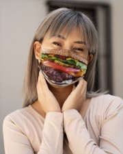 Burger mask Cloth Face Mask - 3 Pack aos-face-mask-lifestyle-17