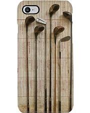 Golf Vintage Sticks PDN-dqh Phone Case i-phone-8-case
