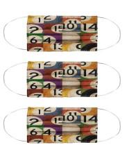 Pool ball mas dvhd-cva Cloth Face Mask - 3 Pack front