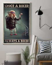 Once biker dvhd-ngt 16x24 Poster lifestyle-poster-1