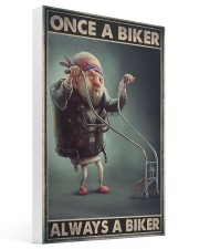 Once biker dvhd-ngt 16x24 Gallery Wrapped Canvas Prints thumbnail