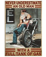Never old man motocycle dvhd-pml 11x17 Poster front