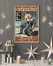 Never old man motocycle dvhd-pml 11x17 Poster lifestyle-holiday-poster-1