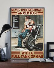 Never old man motocycle dvhd-pml 11x17 Poster lifestyle-poster-2
