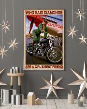 Diamond bike girl 11x17 Poster lifestyle-holiday-poster-1