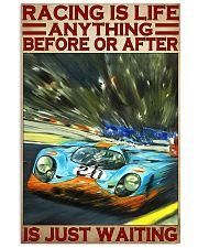 Racing life mcq dvhd-pml 11x17 Poster front