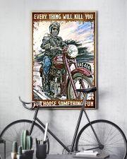 Choose sth fun trmp 11x17 Poster lifestyle-poster-7