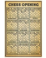 Chess opening dvhd-ngt 24x36 Poster front