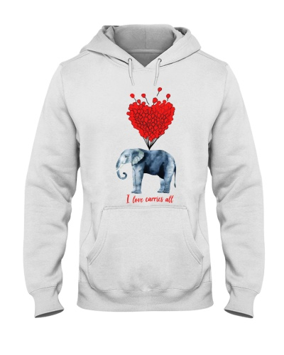 c8b498f05 I love carries all elephant t shirt tee hoodies