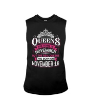 REAL QUEENS ARE BORN ON NOVEMBER 18 Sleeveless Tee thumbnail