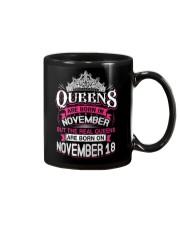 REAL QUEENS ARE BORN ON NOVEMBER 18 Mug thumbnail