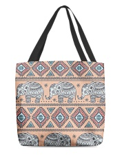 vintage indian elephant  All-over Tote back