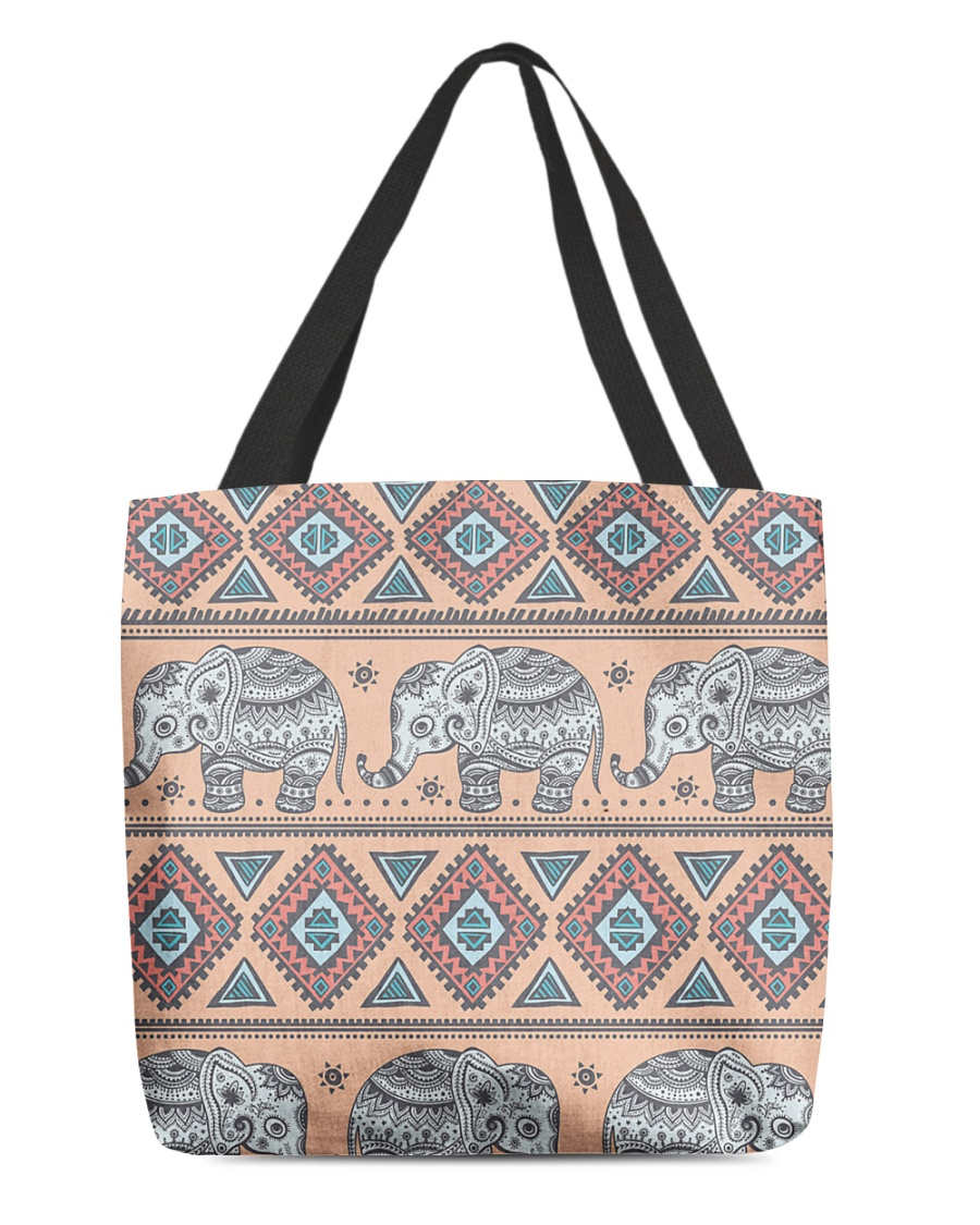 vintage indian elephant  All-over Tote