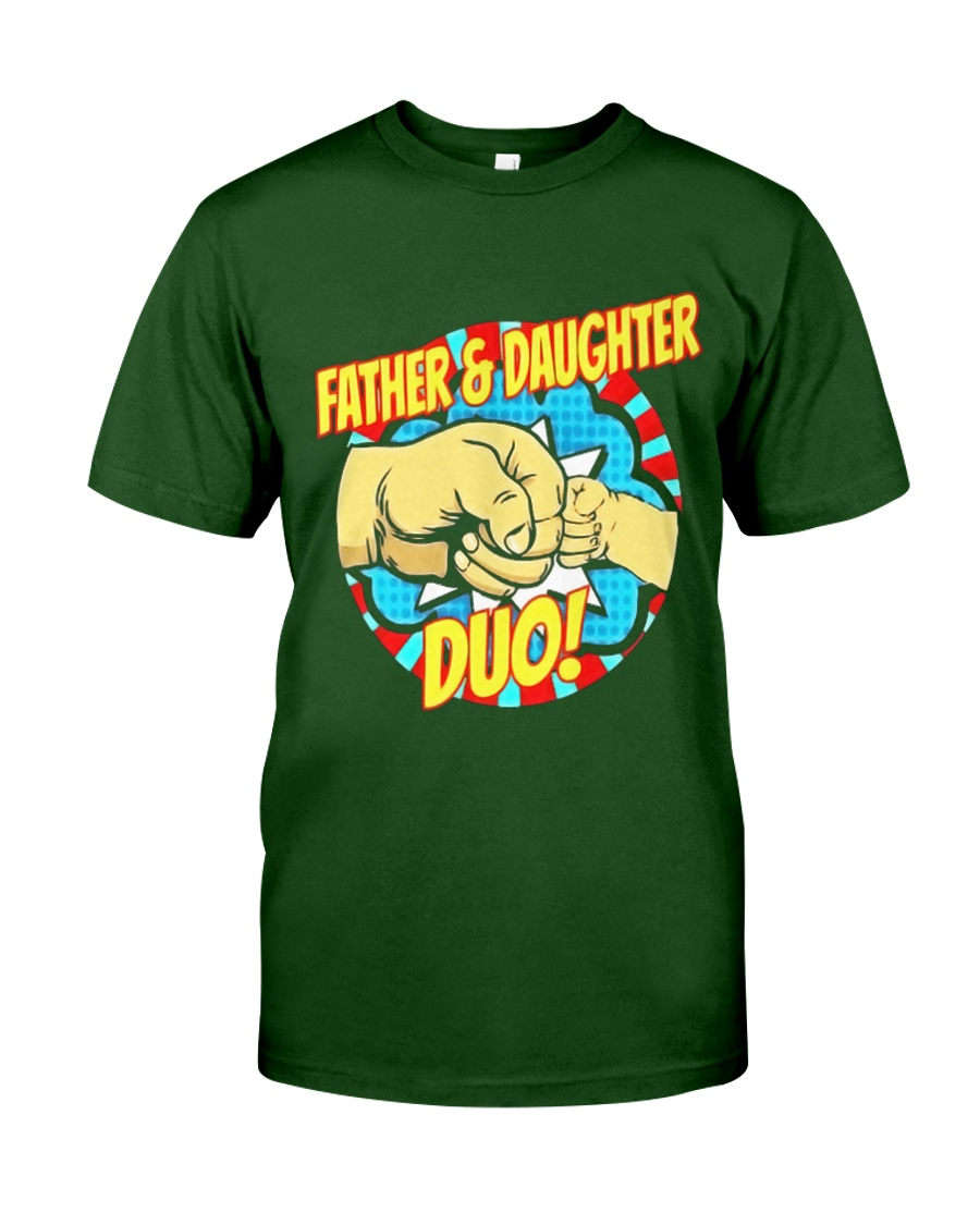 Father And Daughter Dou Classic T-Shirt