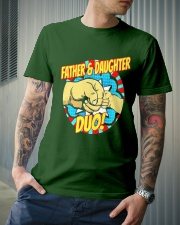 Father And Daughter Dou Classic T-Shirt lifestyle-mens-crewneck-front-6
