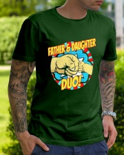 Father And Daughter Dou Classic T-Shirt lifestyle-mens-crewneck-front-7