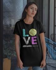Love Softball t-shirt Classic T-Shirt apparel-classic-tshirt-lifestyle-08