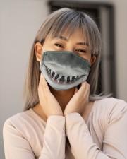 Shark Face  Cloth face mask aos-face-mask-lifestyle-17